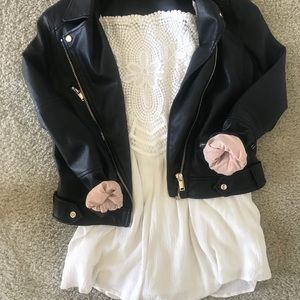 Other - White Romper with lace